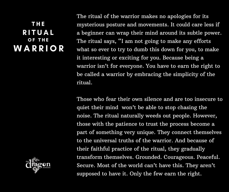 Ritual of the Warrior
